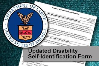 Updated Disability Self-Identification Form Must be Implemented Immediately