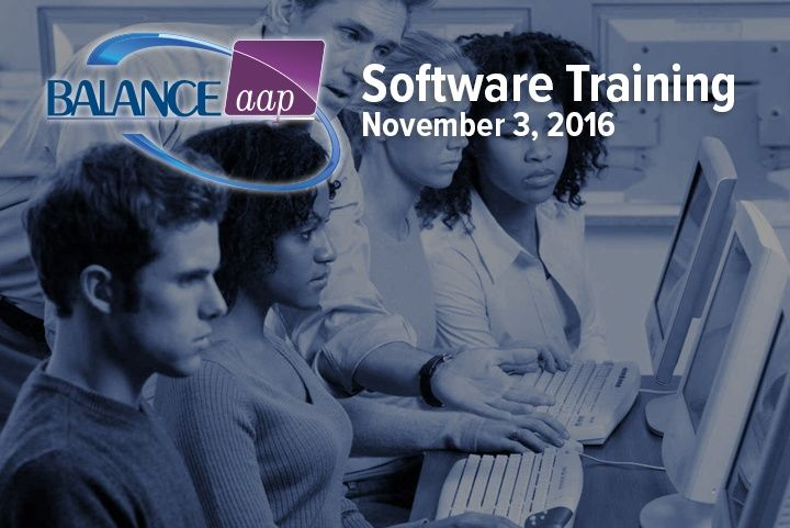 BALANCEaap Software Training November 3, 2016