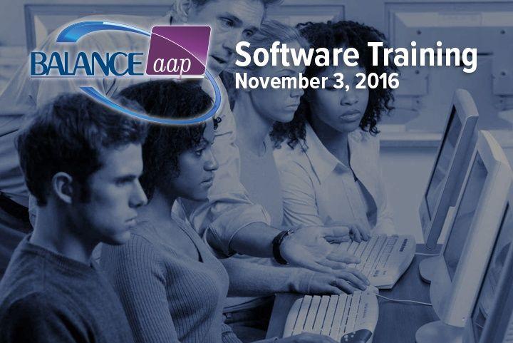 BALANCEaap Software Training November 3, 2016