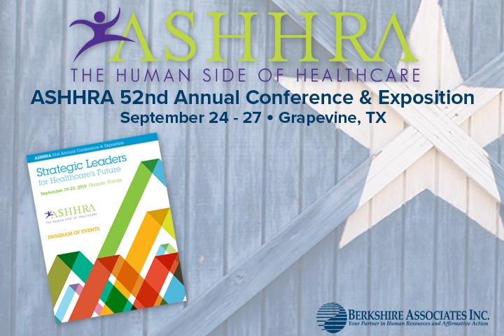 Berkshire at ASHHRA 52nd Annual Conference and Exposition