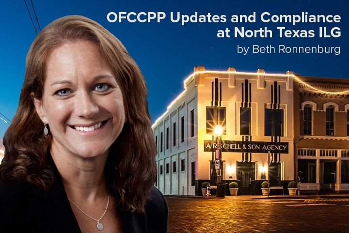 Beth Ronnenburg Discusses OFCCP Updates and Compliance at North Texas ILG Event
