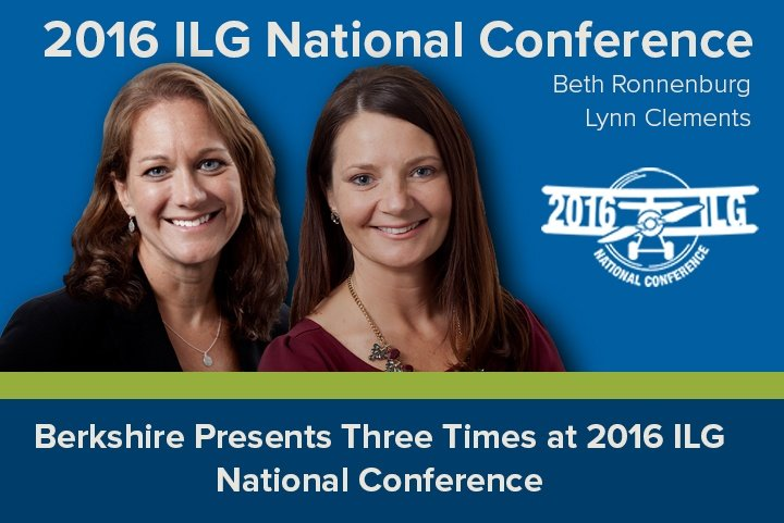 Berkshire Presents Three Times at 2016 ILG National Conference