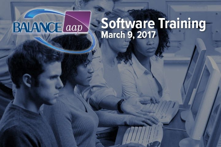 BALANCEaap Software Training March 9, 2017