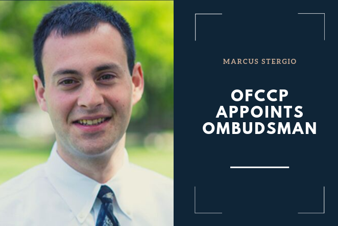 OFCCP Announces New Ombudsman - Releases Contractor Compliance Portal